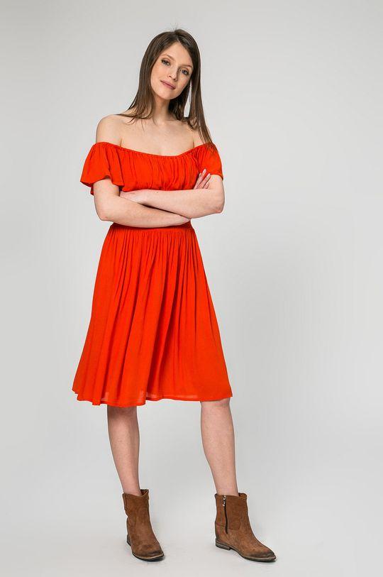 Answear - Šaty Petal červená