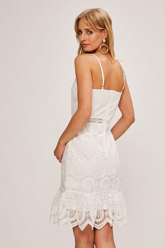 biela Answear - Šaty Stripes Vibes Dámsky