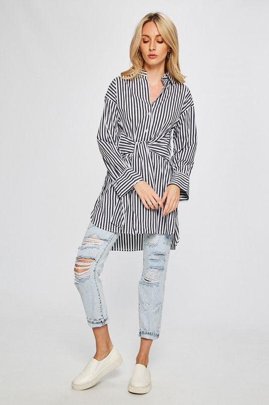 Answear - Šaty Stripes Vibes viacfarebná