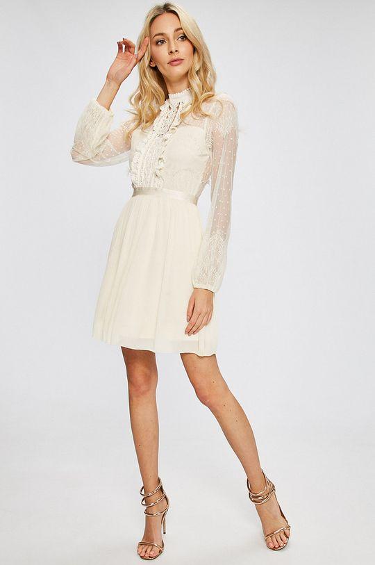 Answear - Šaty krémová