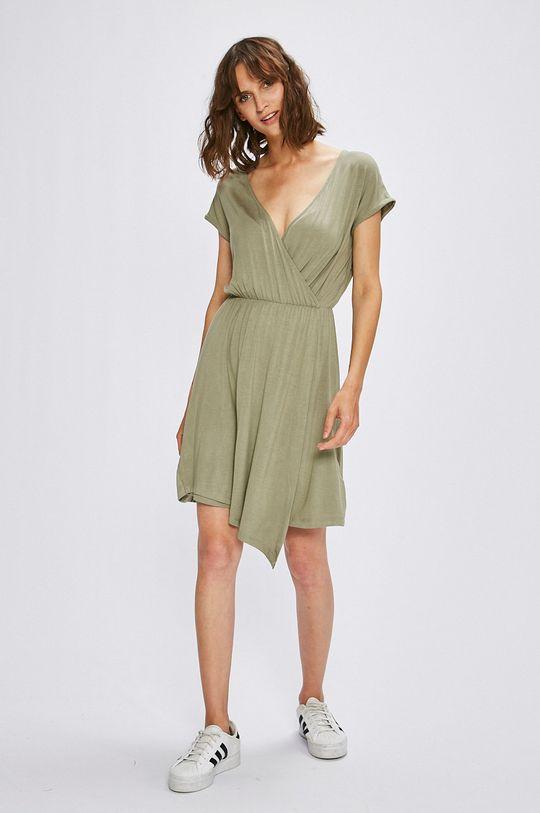 Answear - Šaty hnedozelená