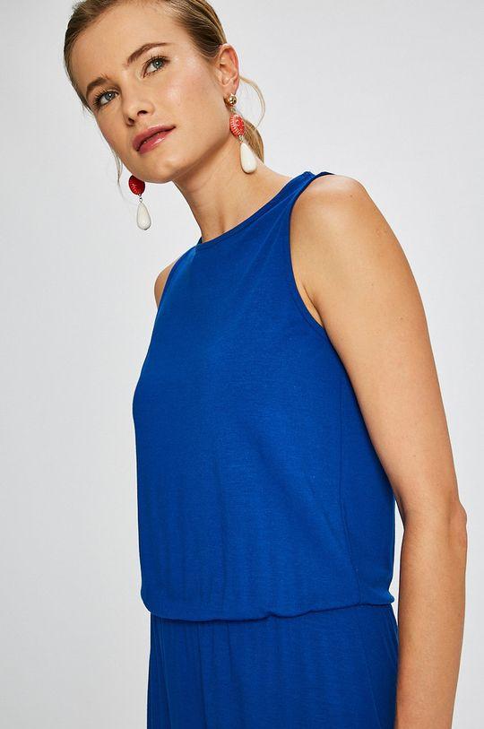 modrá Answear - Šaty Stripes Vibes
