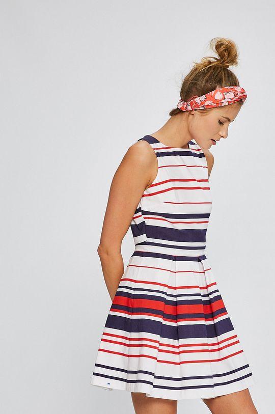 viacfarebná Answear - Šaty Stripes Vibes Dámsky