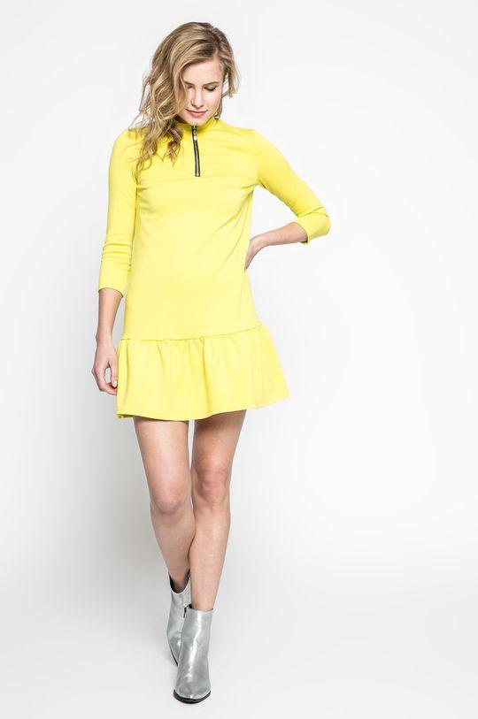Answear - Šaty Sportu Fusion žltá