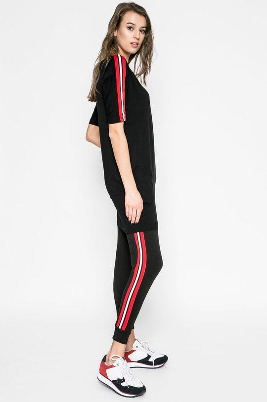 čierna Answear - Šaty Sporty Fusion Dámsky