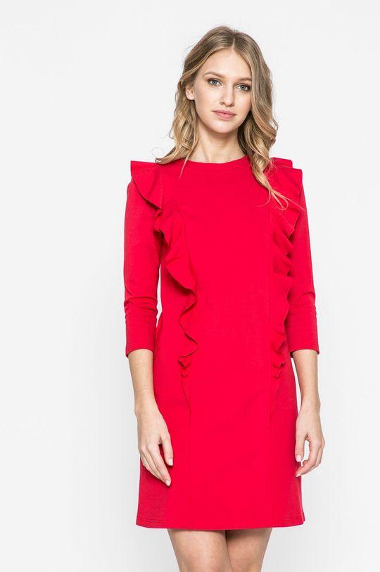 červená Answear - Šaty Sporty Fusion Dámsky