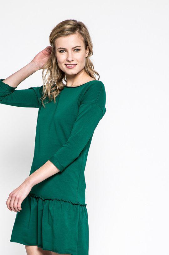 zelená Answear - Šaty Sporty Fusion Dámsky