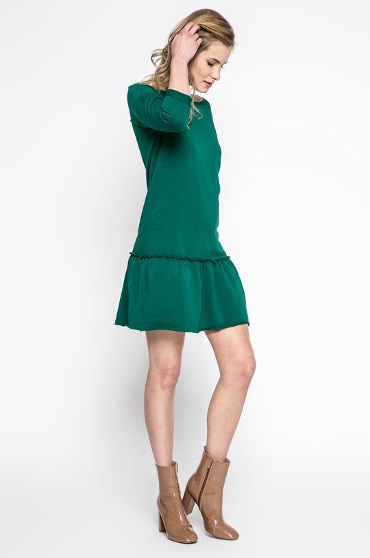 Answear - Šaty Sporty Fusion zelená