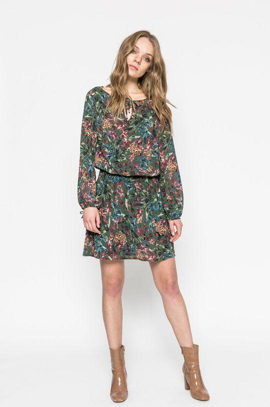 Answear - Šaty vojenská zelená