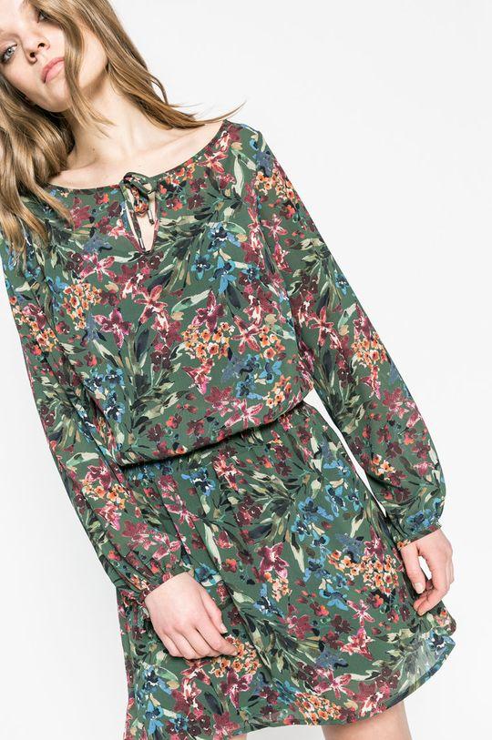 vojenská zelená Answear - Šaty