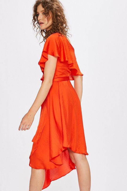 Answear - Šaty Stripes Vibes červená