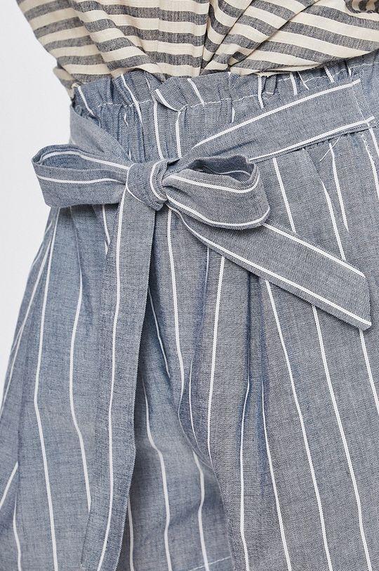 modrá Answear - Šortky Stripes Vibes