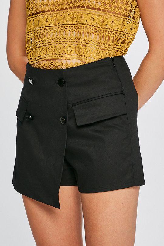 čierna Answear - Šortky Stripes Vibes Dámsky