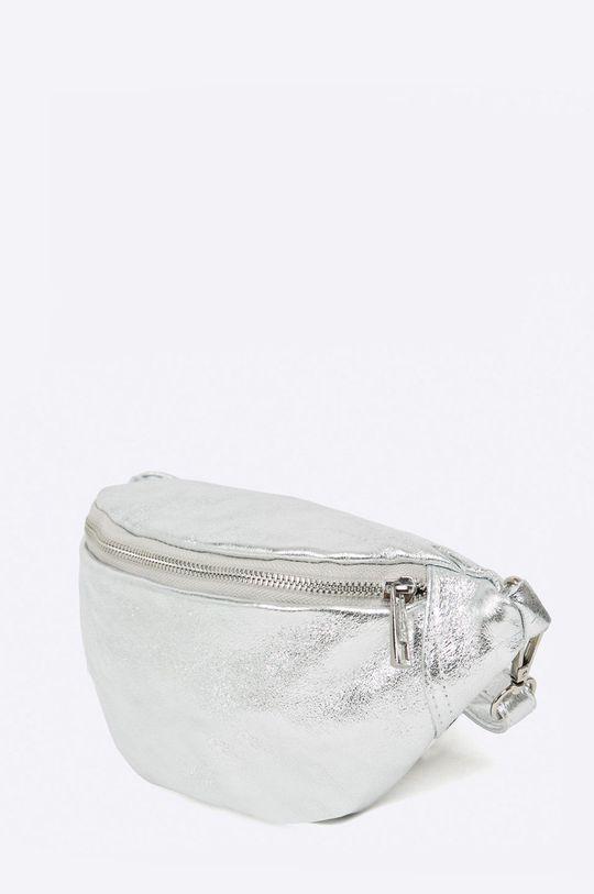 Answear - Saszetka skórzana srebrny
