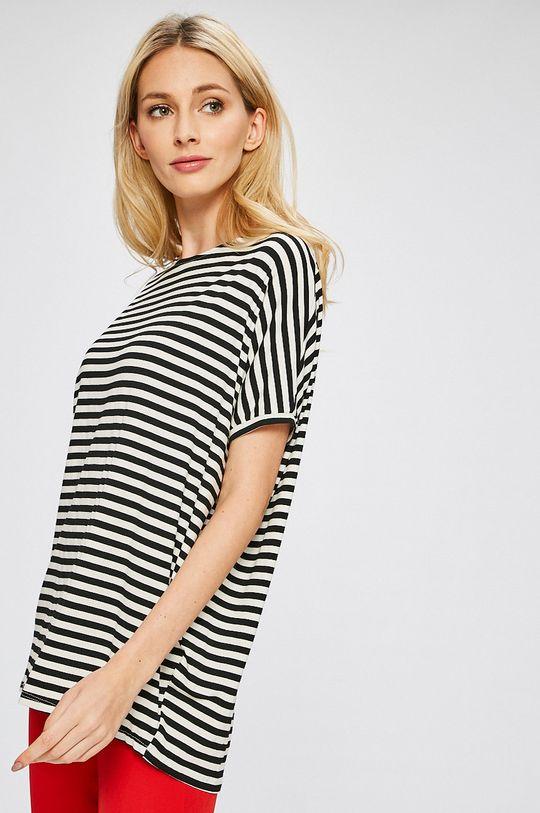 čierna Answear - Top Stripes Vibes Dámsky