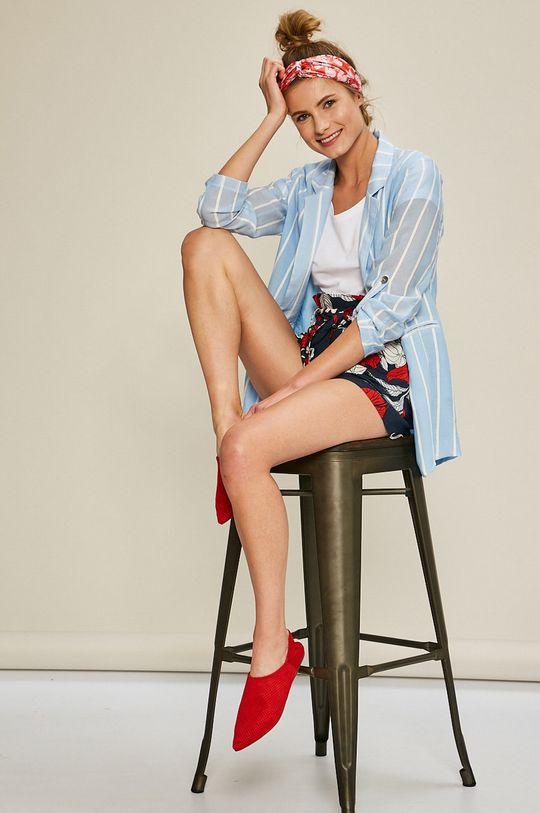 biela Answear - Top Stripes Vibes
