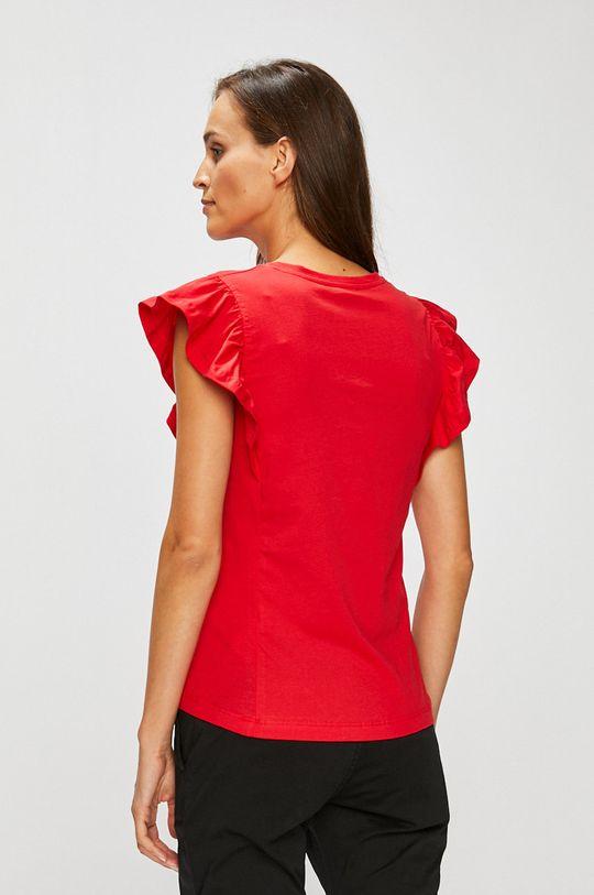 červená Answear - Top Stripes Vibes Dámsky