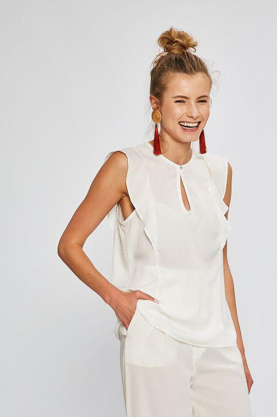 biela Answear - Top Stripes Vibes Dámsky