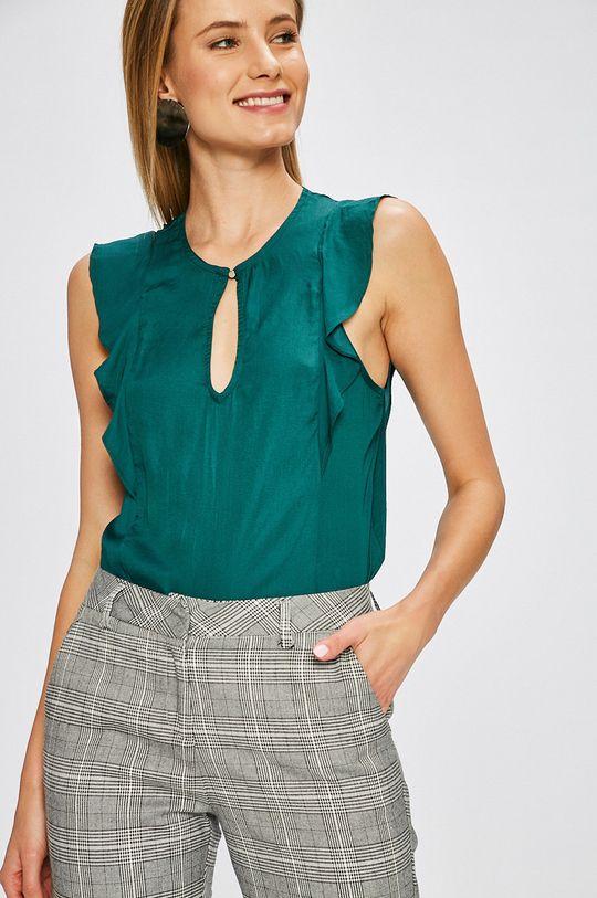 zelená Answear - Top Stripes Vibes Dámsky
