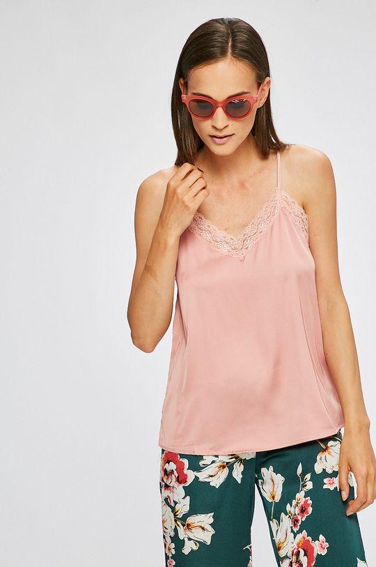 roz pastelat Answear - Top De femei