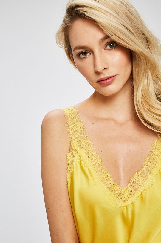 žltá Answear - Top