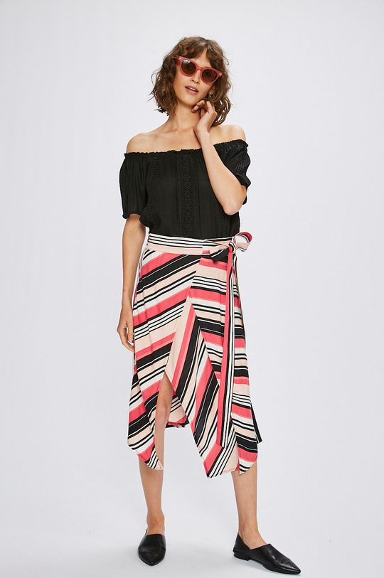 Answear - Top Stripes Vibes čierna