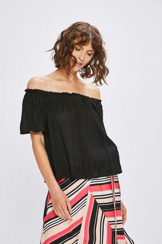 čierna Answear - Top Stripes Vibes