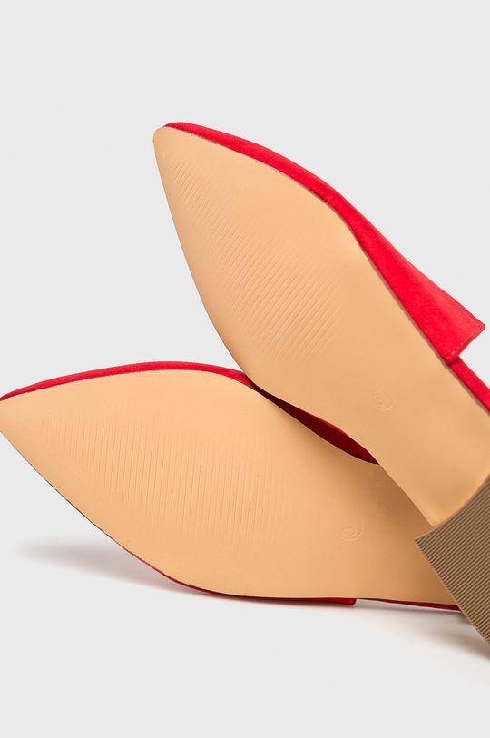 Answear Lab - Klapki Cholewka: Materiał tekstylny, Wnętrze: Materiał syntetyczny, Podeszwa: Materiał syntetyczny,
