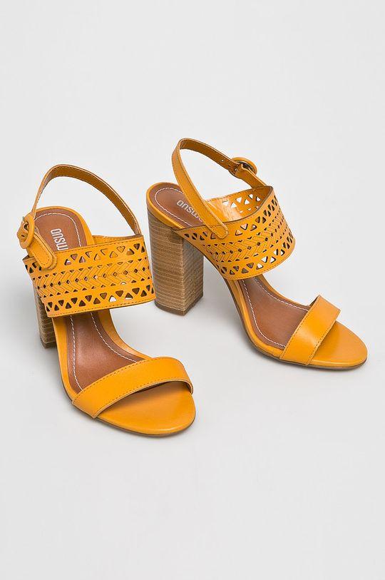 Answear - Sandały pomarańczowy
