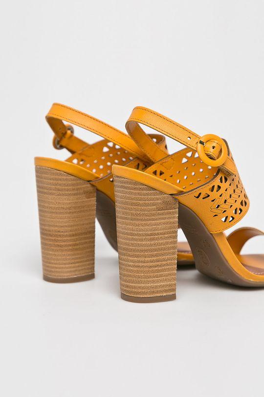 Answear - Sandały Cholewka: Skóra naturalna, Wnętrze: Materiał syntetyczny, Podeszwa: Materiał syntetyczny,