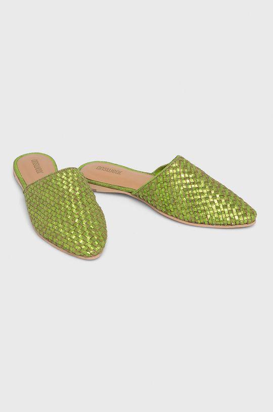 Answear - Papucs cipő 6887M. zöld