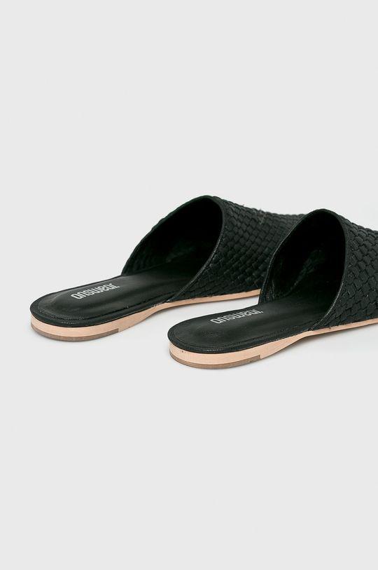 Answear - Papuci Gamba: Piele naturala Interiorul: Material sintetic Talpa: Material sintetic