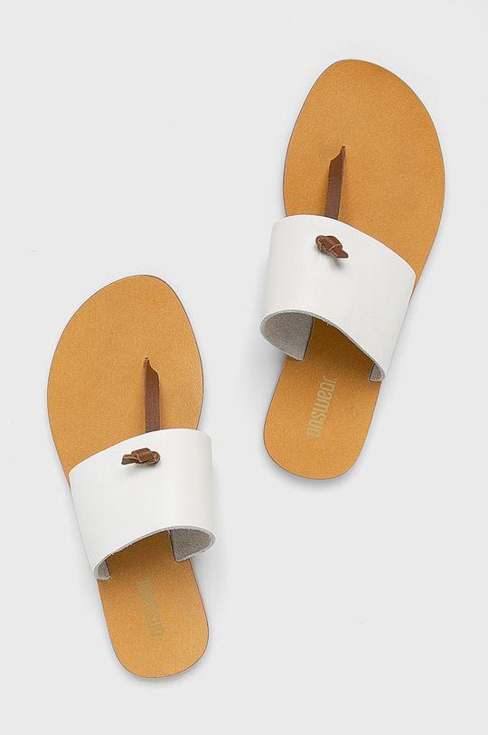 Answear - Papucs cipő 5121.  Szár: természetes bőr Belseje: szintetikus anyag Talp: szintetikus anyag