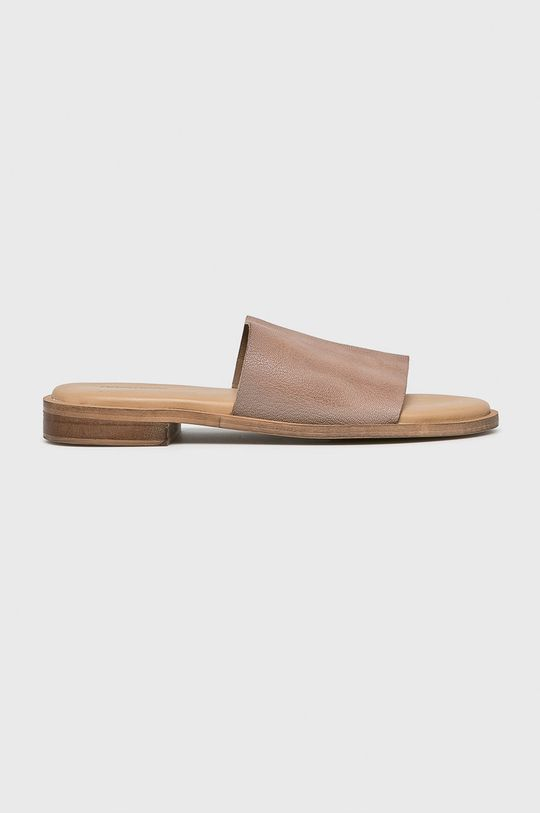 bézs Answear - Papucs cipő 6673. Női