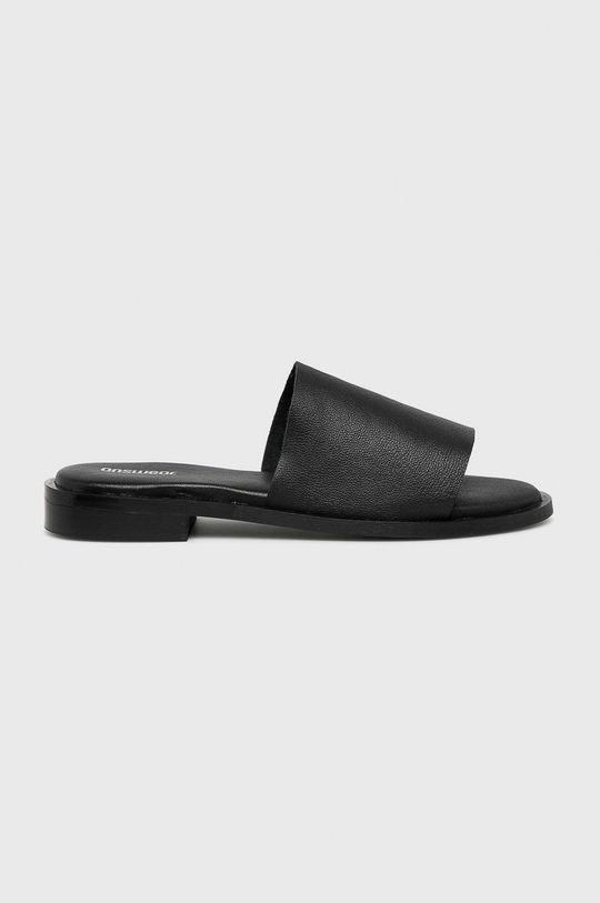 fekete Answear - Papucs cipő 6673. Női