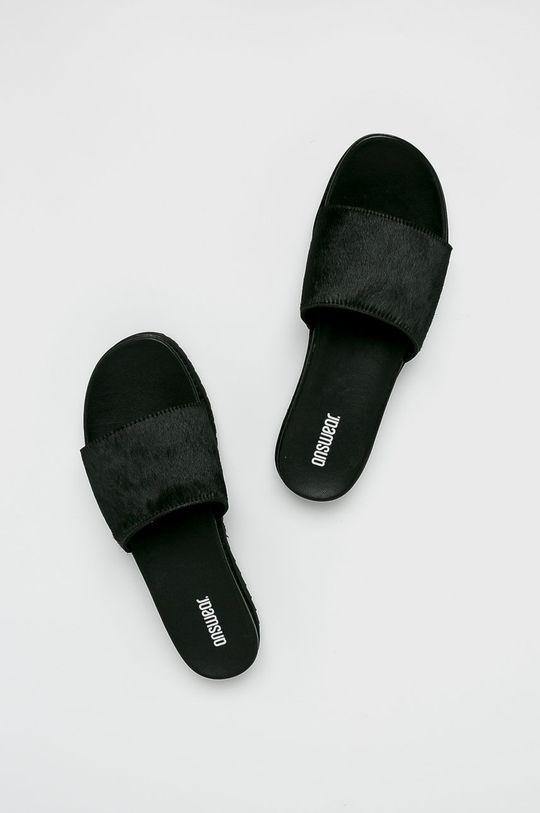 Answear - Papucs cipő 5603.  Szár: természetes bőr Belseje: szintetikus anyag Talp: szintetikus anyag