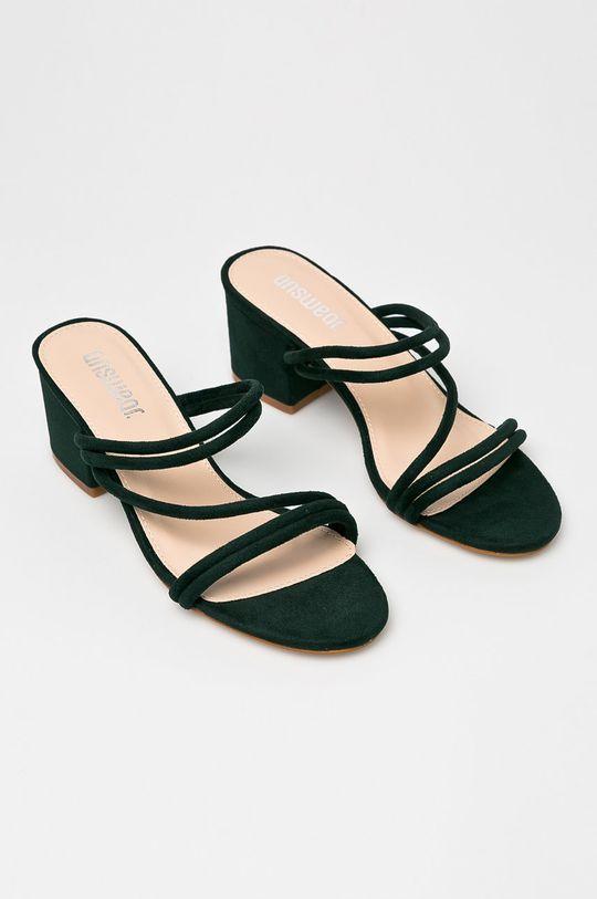 Answear - Papucs cipő JMW01540TXK. sötétzöld