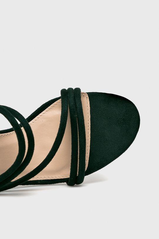 sötétzöld Answear - Papucs cipő JMW01540TXK.