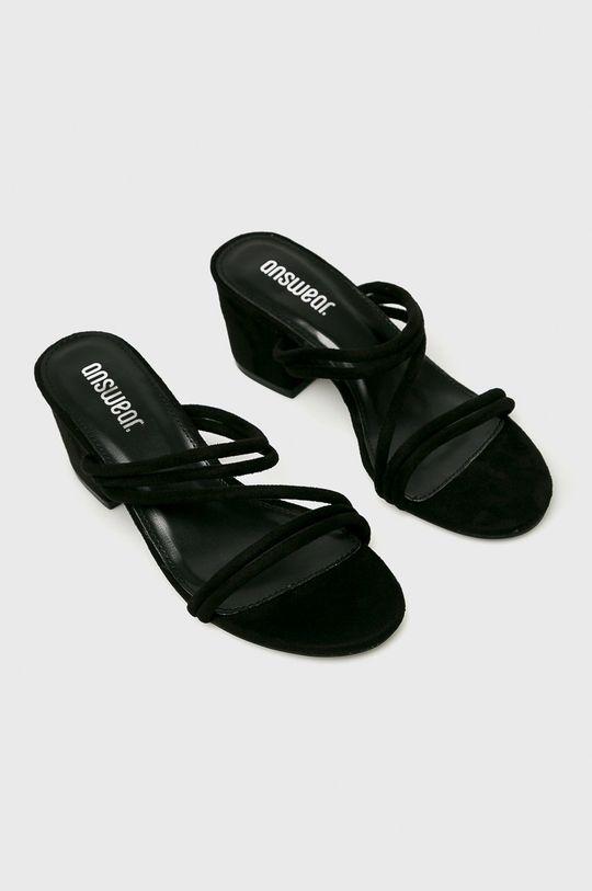 Answear - Papucs cipő JMW01540TXK. fekete