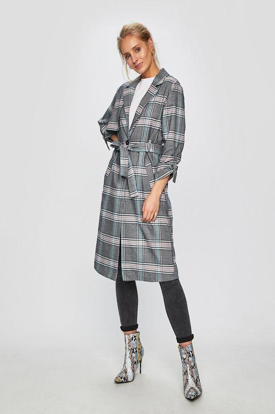 Answear Lab - Płaszcz multicolor