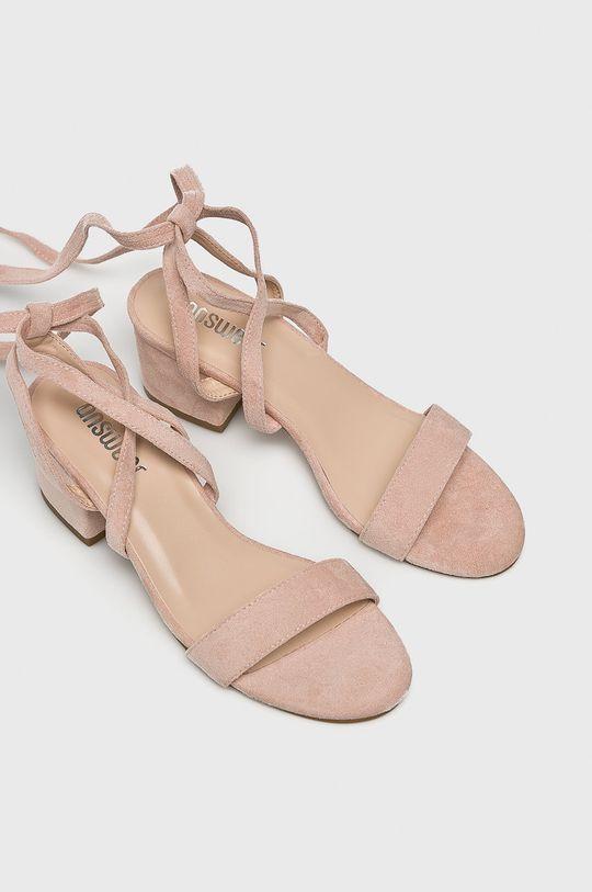 Answear Lab - Sandały różowy