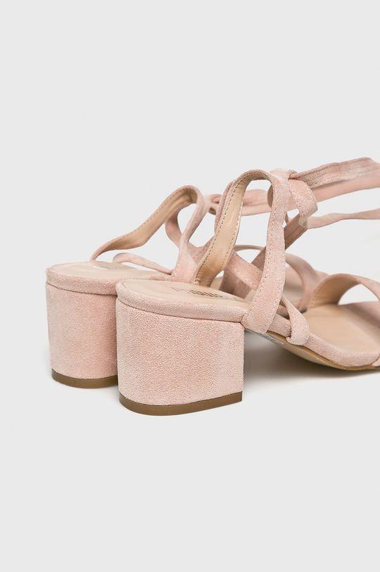 różowy Answear Lab - Sandały