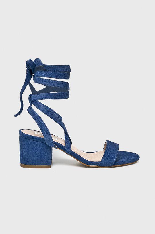 niebieski Answear Lab - Sandały Damski