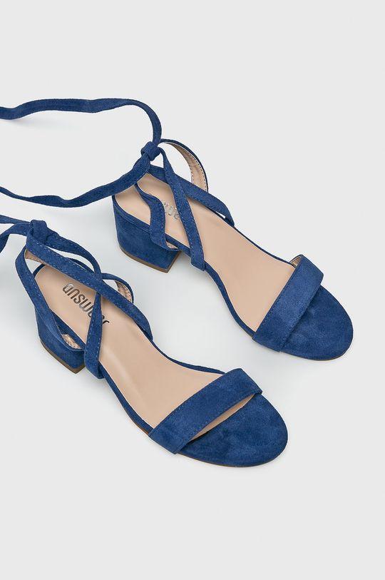 Answear Lab - Sandały niebieski