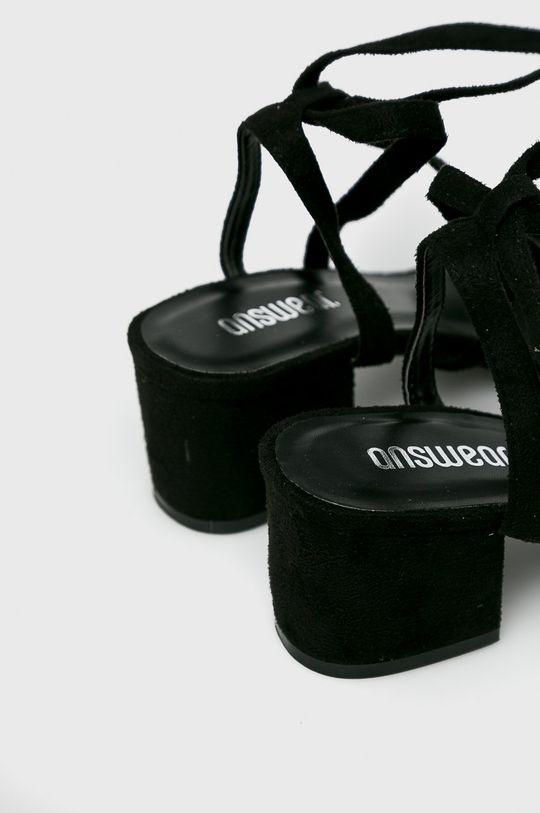 czarny Answear Lab - Sandały