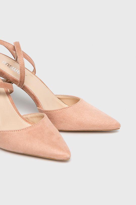 roz Answear - Pantofi cu toc
