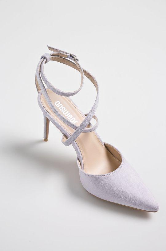 Answear - Pantofi cu toc violet