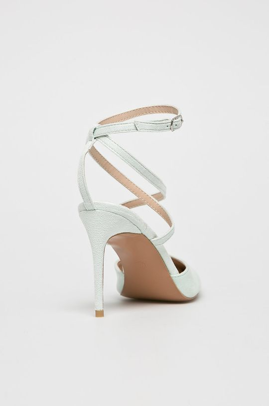 Answear - Pantofi cu toc Gamba: Material textil Interiorul: Material sintetic Talpa: Material sintetic