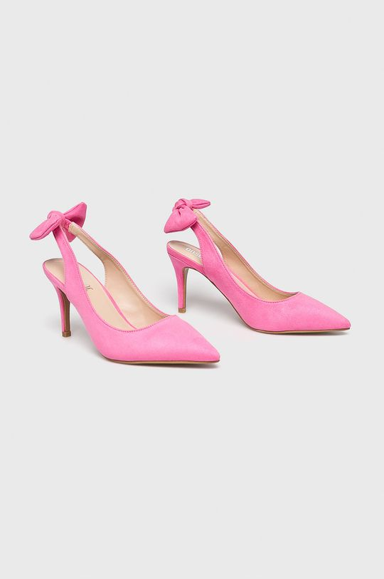 Answear - Pantofi cu toc roz