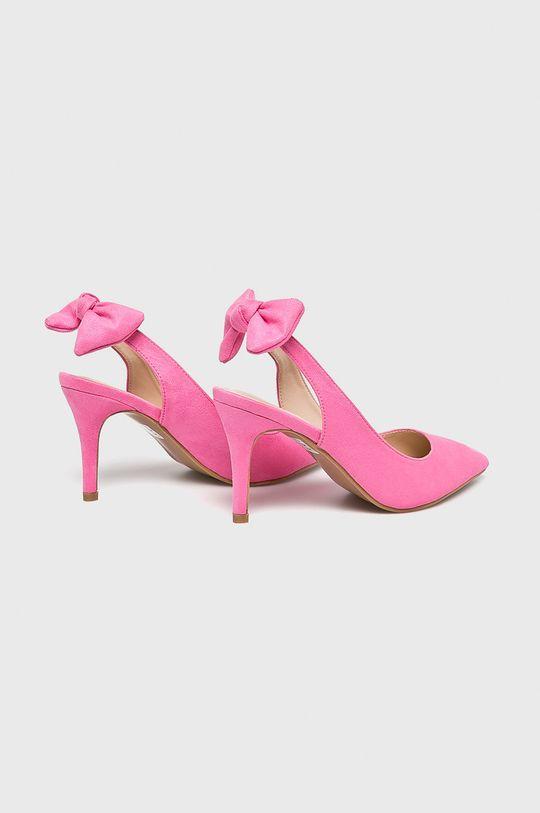 Answear - Pantofi cu toc Gamba: Material textil Interiorul: Material sintetic, Material textil Talpa: Material sintetic